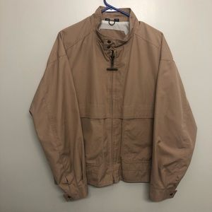 Mighty Mac bomber jacket brown lightweight VTG